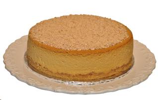 Baked Caramel Cheesecake